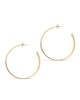 Graduating Hoop Earrings - Sterling Forever