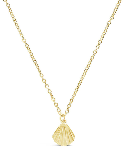 Seashell Pendant Necklace Necklace Sterling Forever Gold