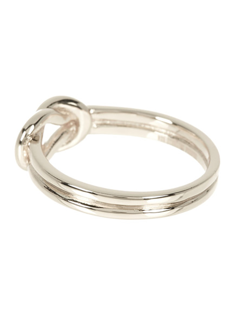 Sterling Silver Double Love Knot Ring Sterling Forever