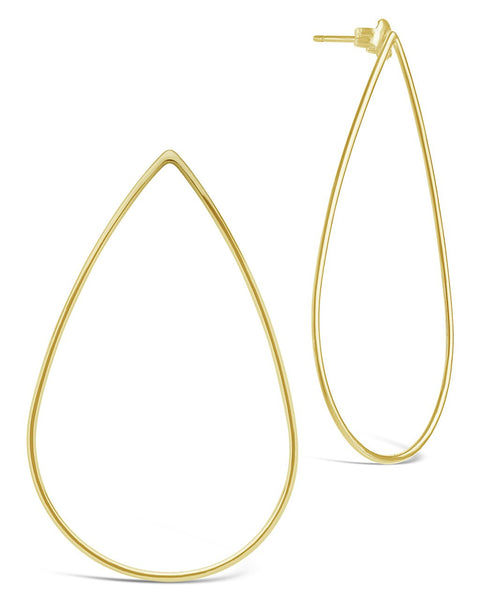 Teardrop Earrings Earring Sterling Forever