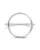Sterling Silver Open Circle Ring - Sterling Forever