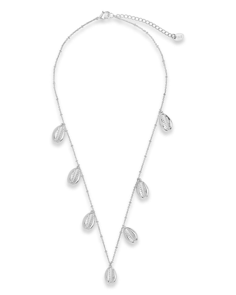 Puka Shell Charm Necklace - Sterling Forever