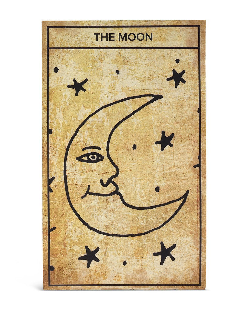 The Moon Tarot Card Necklace - Sterling Forever