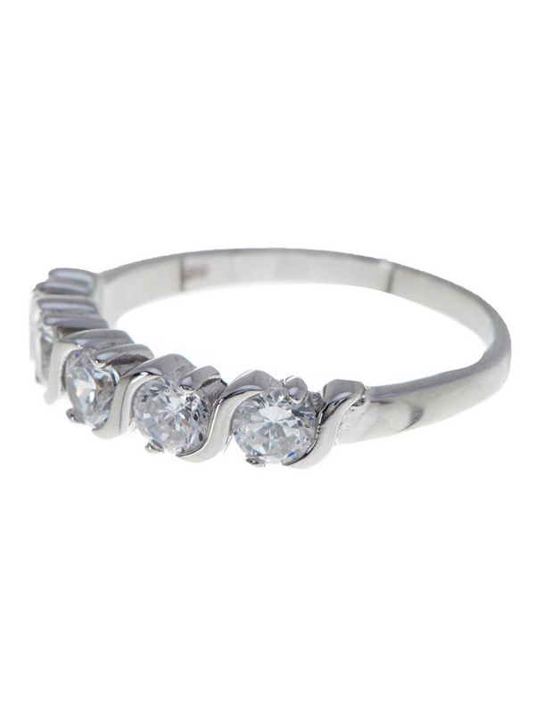 Sterling Silver Continuous Infinity Ring - Sterling Forever