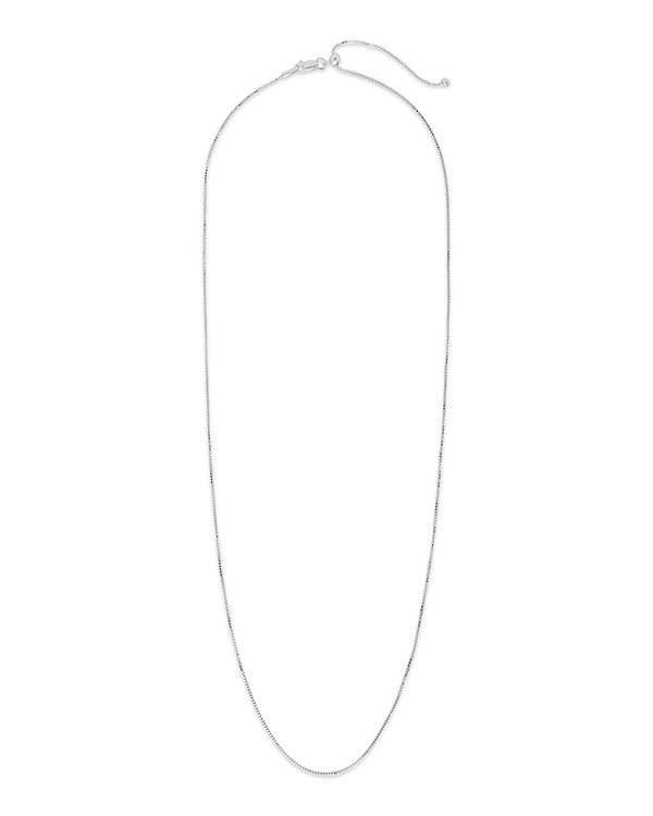 Sterling Silver Adjustable Venetian Chain - Sterling Forever