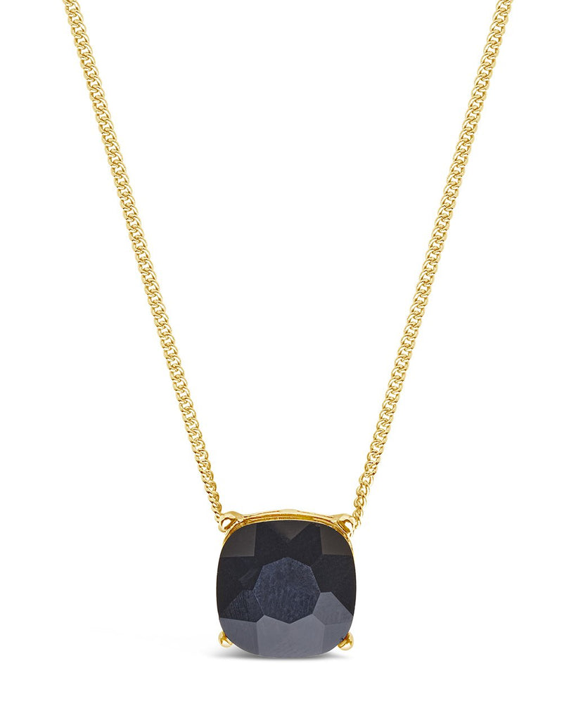 'Haymond' Necklace Necklace Sterling Forever Black