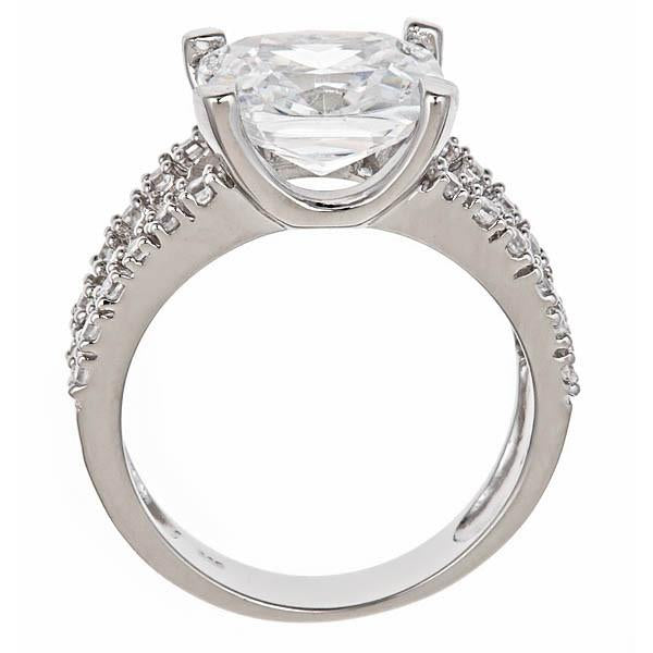 Britney's Engagement Ring in Sterling Silver