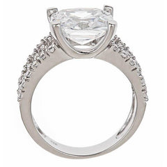 Britney's Engagement Ring in Sterling Silver - Sterling Forever