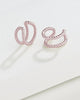 Braided Double Row Ear Cuff Set of 2 - Sterling Forever
