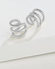 Braided Triple Row Ear Cuff Set of 2 - Sterling Forever