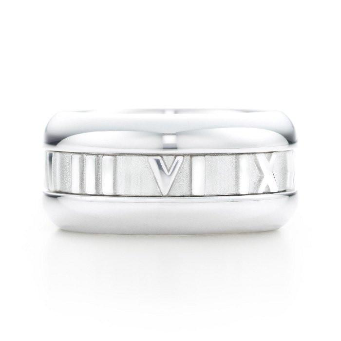 Sterling Silver Solid Roman Numeral Ring