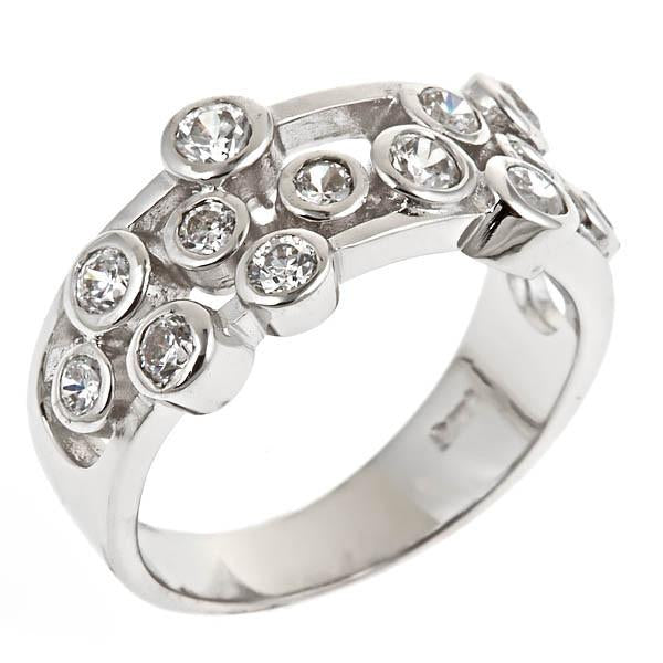 Sterling Silver Multi Bubbles Ring - Sterling Forever