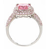 Legacy Ring with Pink Diamond CZs
