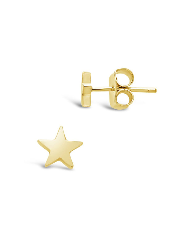 Sterling Silver Star Studs - Sterling Forever