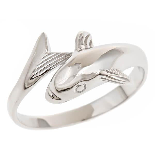 Sterling Silver Dolphin Ring - Sterling Forever
