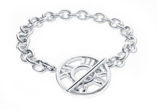 Sterling Silver Roman Numeral Toggle Bracelet