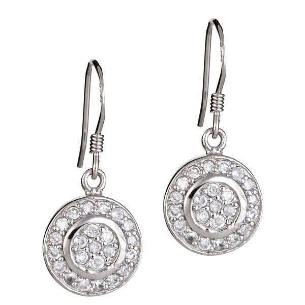 Sterling Silver Circlet Dangle Earrings - Sterling Forever