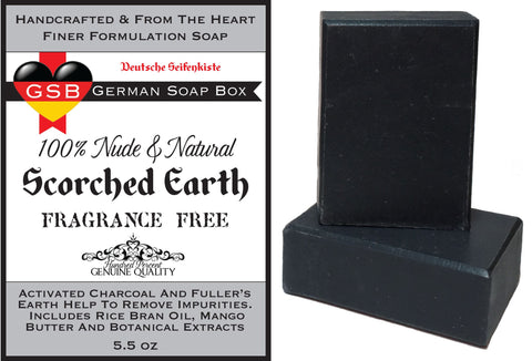 Unscented & Natural, Scorched Earth 2 Bars