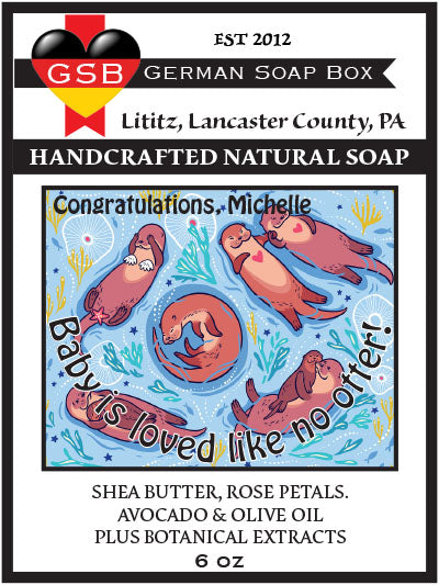 Personalized Soap: Baby Shower 03