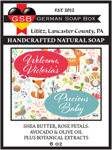 Personalized Soap: Baby Shower 02