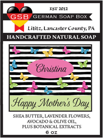 Personalized Soap: Mother's Day 02