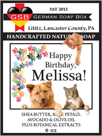 Personalized Soap: Birthday 04