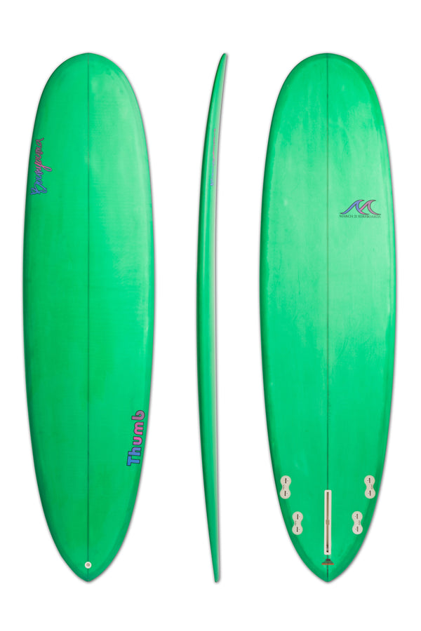 Thumb - Funboard Surfboard - Green
