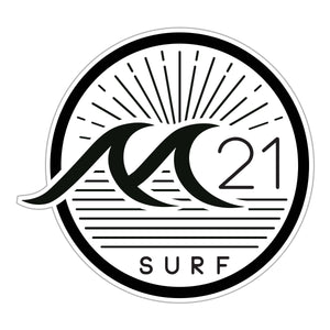 M21 Surf Lifestyle Sticker