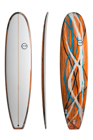 Funboard - Orange Swirl Art Tint