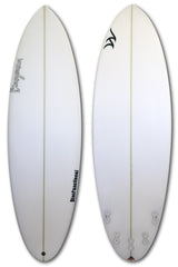 5'4 - 6'2 Poly PU Surfboard Shortboard- DiscFunctional