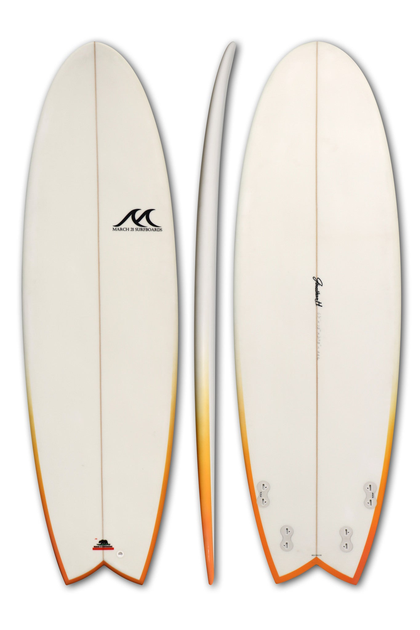 Jh simmy fish shortboard march 21 surfboards for Hybrid fish surfboard