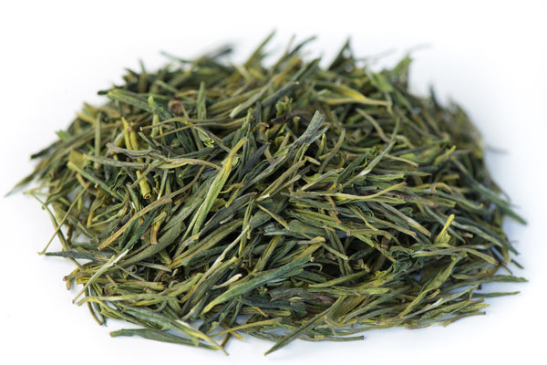 White Jade Phoenix green tea leaves