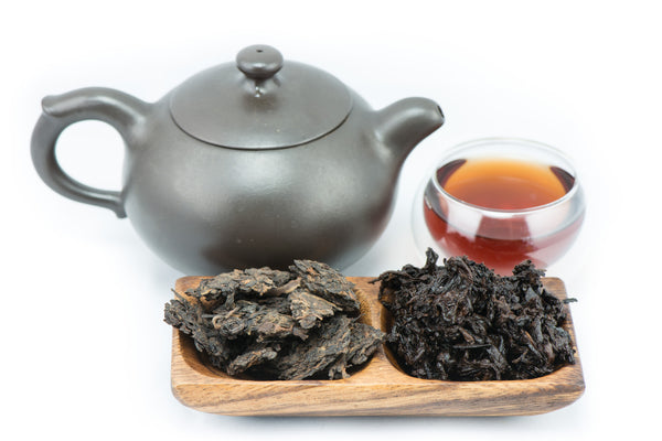 Menghai Yellow Ripe Puerh tea