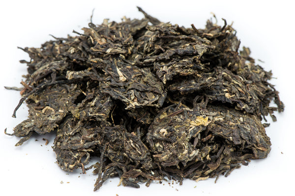 Bada Mountain raw puerh tea