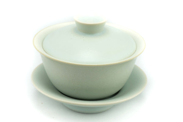 Blue Ceramic Gaiwan tea bowl