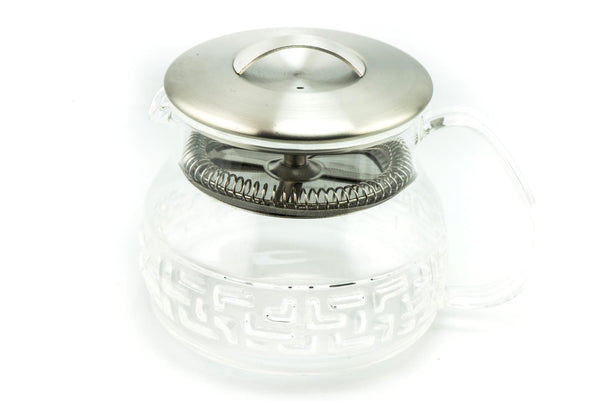 Glass Teapot with lid filter