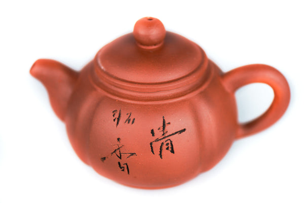 Light brown Yixing Zisha clay teapot