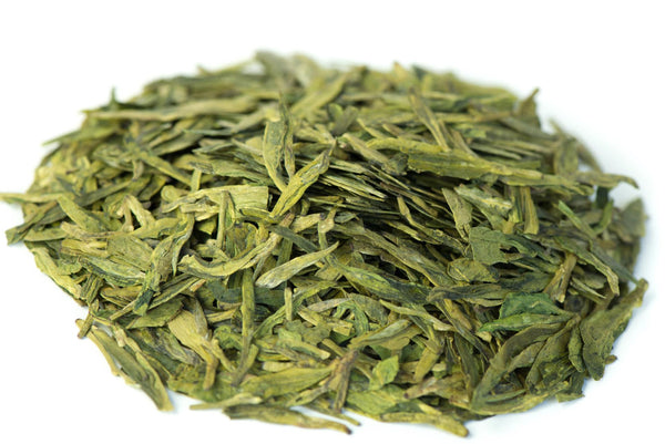 Dragonwell green tea leaves