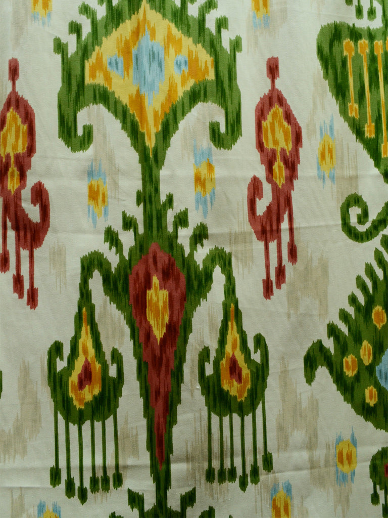 ikat fabrics, kilim, home decor