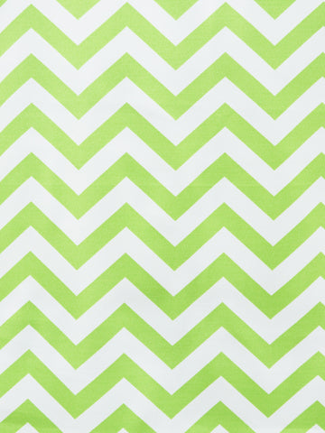 OD CHEVRON LIME (Outdoor Fabric)