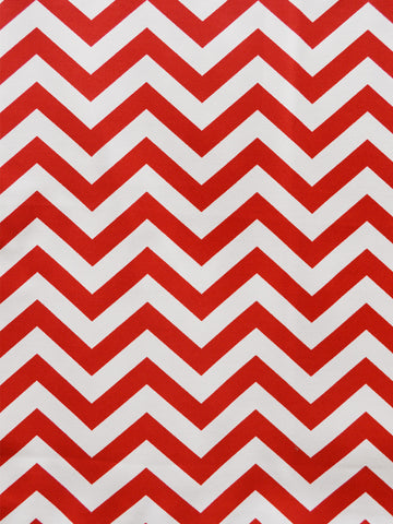 CHEVRON CHERRY (Outdoor Fabric)