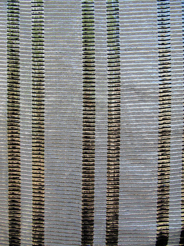stripe fabric, faux silk, discount fabric