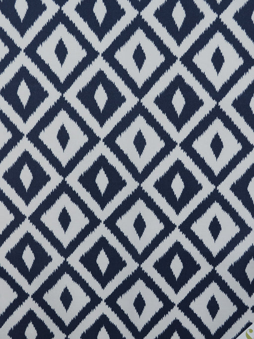 outdoor geometric prints, blue outdoor fabrics, black designer fabrics