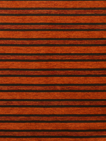 stripes, orange stripe fabric, upholstery fabric