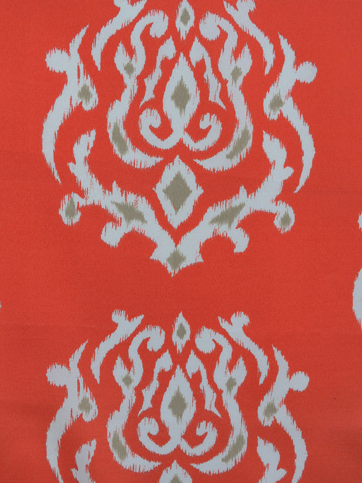 coral outdoor fabric, ikat outdoor fabric, best fabric store  in atlanta