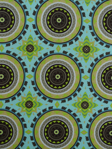 suzani outdoor fabric, multi color outdoor fabric, best fabric store in atlanta