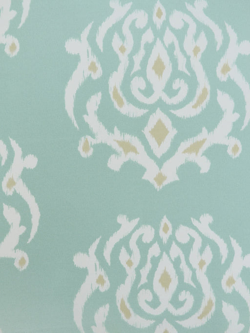 aqua outdoor fabric, ikat outdoor fabric, best fabric store  in atlanta