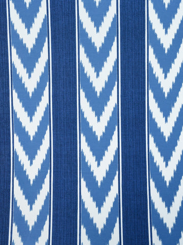 IKAT STRIPE CORNFLOWER (Outdoor)