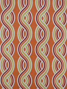 coral outdoor fabric, striped outdoor fabric, best atlanta fabric store
