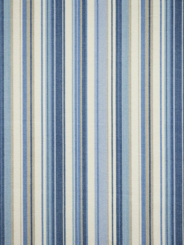 blue stripe fabric, stripes, upholstery fabric